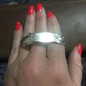 Jewelry - Oneida sterling silver engraveable spoon bracelet